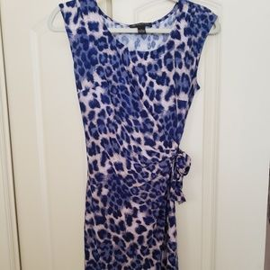 Animal print beautiful dress never worn